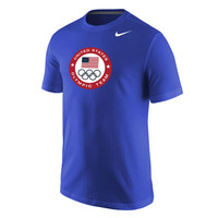 Men's Nike Royal Team USA Full Chest Core T-Shirt