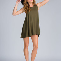 Chic All Day Mini Shift Dress