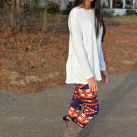 River Bend Print Leggings