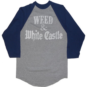 Marijuana & Food T-shirt 'Weed & White Castle' Men's / Unisex by American Anarchy Brand
