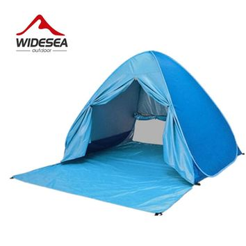 beach tent  pop up open 2-3 person UV-protect quick automotic open indoor or outdoor  camping