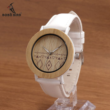 BOBO BIRD E24 Unisex Top Brand Designer Wristwatches Men's Women's Nature Bamboo Wooden Watches in Gift Boxes Dropshipping OEM