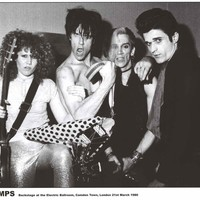 The Cramps Electric Ballroom 1980 Poster 24x33