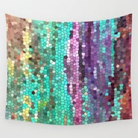 Morning has broken Wall Tapestry by Catherine Holcombe