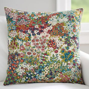 SPRING BLOSSOM PRINT PILLOW COVER