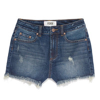 High-waist Denim Shorts - PINK - Victoria's Secret