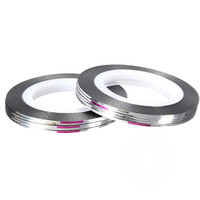 Silver or gold or both mixed color 10 Rolls  Nail Striping tape