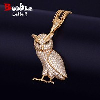 Iced Out OVO Pendant Necklace