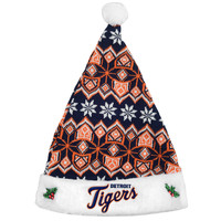 Detroit Tigers Knit Santa Hat - 2015