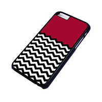 COLORBLOCK DARK RED CHEVRON Pattern iPhone 6 / 6S Plus Case Cover