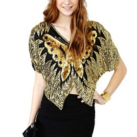 Soar Butterfly Top