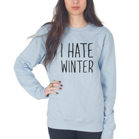 I Hate Winter Christmas Sweater