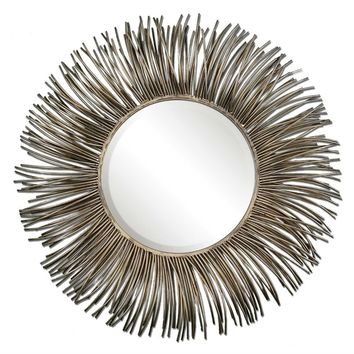 Akisha Starburst Mirror By Uttermost