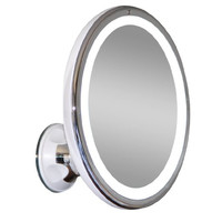LED Makeup Mirror Adjustable 7x Magnification Lighted Makeup VanityPowerful Rotating, Locking Suction