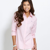 Women's Button Down Shirts: Libby Oxford Shirt for Women – Vineyard Vines