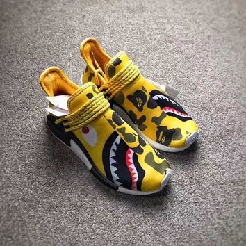 PEAPES5 Adidas NMD BAPE X SPLIT Color Custom Edition
