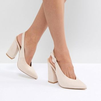 RAID Brook Block Heeled Shoes at asos.com