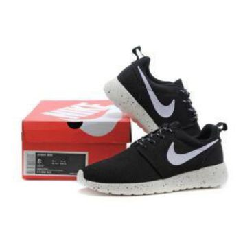 NIKE LONDON RUN ROSHE MEN&WOMEN RUNNING SHOES 36-44 WHITE&BLACK
