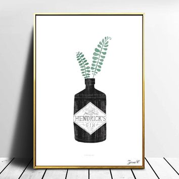 Urban Jungle Posters And Prints Wall Art Canvas Painting Wall Pictures For Living Room Nordic Decoration