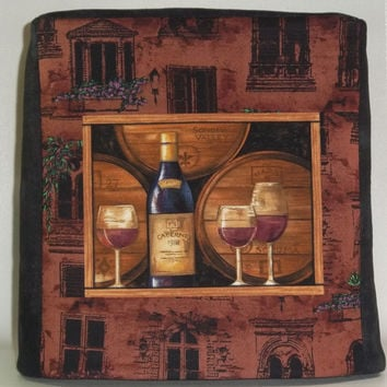 Kitchenaid Mixer Cover - Wine Bottle