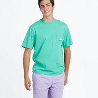 Sportfisher Line Graphic Pocket T-Shirt
