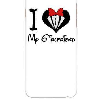 i love my girlfriend - iphone 6 Plus Case