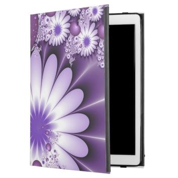 Falling in Love Abstract Flowers & Hearts Fractal iPad Pro Case