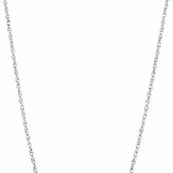 10kt White Gold Women's Round Diamond Horizontal Bar Pendant Necklace 1-10 Cttw - FREE Shipping (US/CAN)