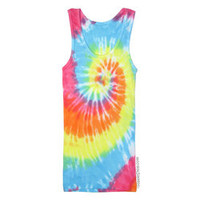 Pastel Spiral Tie Dye Tank Top on Sale for $18.95 at The Hippie Shop
