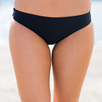 Margaritas In Mexico Seamless Cheeky Bikini Bottom (Black)