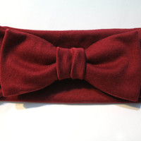 Knit Bow Headwraps