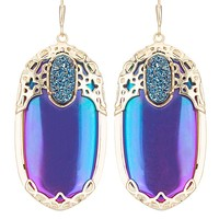 Deva Statement Earrings in Iridescent Illusion - Kendra Scott Jewelry