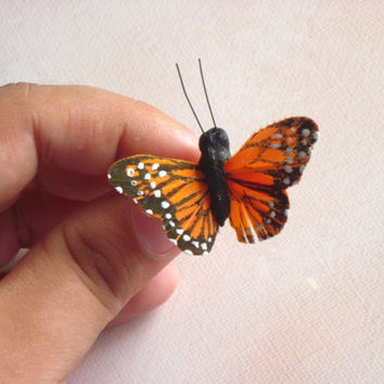 Feather Butterfly Ring : Monarch 3D Realistic Jewelry