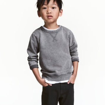 H&M Washed-look Sweatshirt $12.99