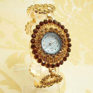Vintage Bangle Cuff Watch