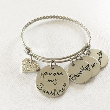 You are my Sunshine Mother's bracelet