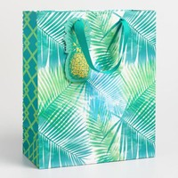 Jungle Pineapple Kraft Gift Bag