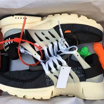 OFF-WHITE x NIKE Air Presto Sneakers Sport Shoes