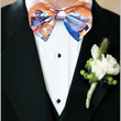 Jabba and Lando Bow Tie Star Wars Return of the Jedi bowtie Pre-Tied bow on Band with Hook and Loop tape closure