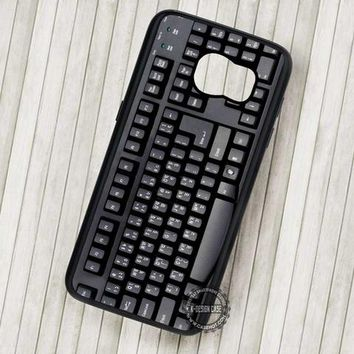 Retro Keyboard Vintage Realistic Unique - Samsung Galaxy S7 S6 S5 Note 7 Cases & Covers
