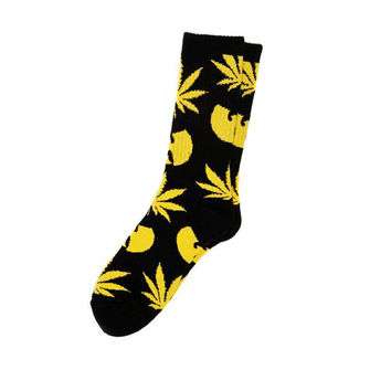 1 pairs/ lot Unisex Harajuku wu tang clan Bat long socks street wear Skateb