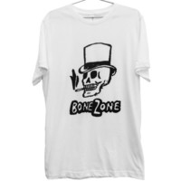 Grunged out Bone Zone T-Shirt (ATTN: notate SIZE during checkout)
