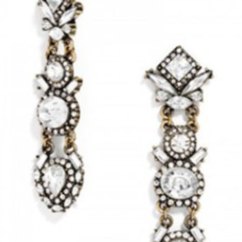 Evelyn Crystal Earrings