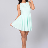 Lisa Dress - Mint