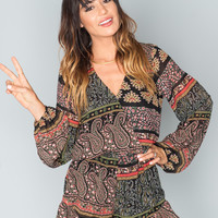 Show Me Your Mumu Rocky Romper ~ Lovely Paisley