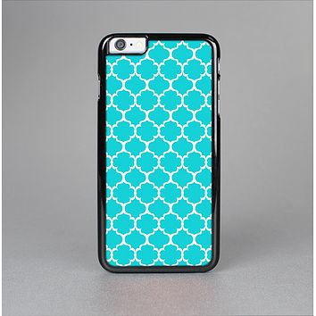 The Teal And White Seamless Morocan Pattern Skin-Sert for the Apple iPhone 6 Skin-Sert Case