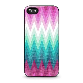 OMBRE PASTEL CHEVRON Pattern iPhone 5 / 5S / SE Case Cover
