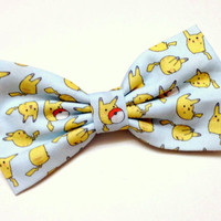 Pokemon Clip on Bow Tie for Men