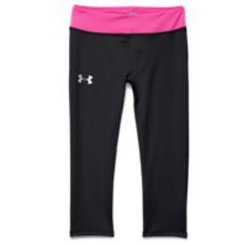 Under Armour Girls' HeatGear Armour Capri