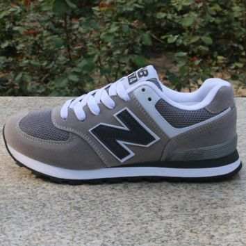 NEW BALANCE Women Men Casual Running Sport Shoes Sneakers Grey